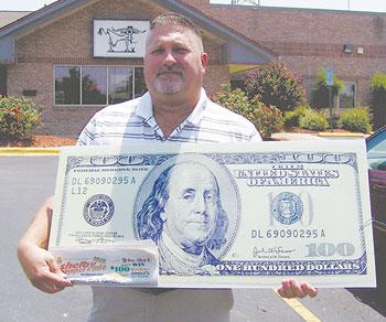 ERIC LINGERFELT WINS $100!
