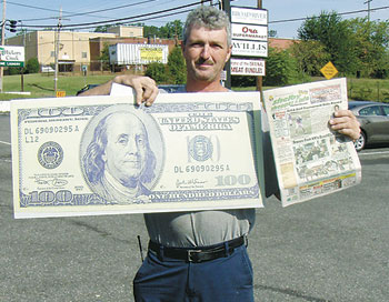 EDDIE CHILDERS WINS $100!