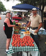Shopping The Foothills Farmers' Market In Uptown Shelby