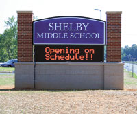 New Shelby Middle School Open