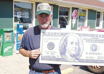 Dennis Hood is our Lucky Reader of the Week!