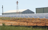 Shelby Airport Goes Green - Goes Solar!