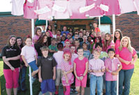 Grace Christian Academy Raises Money For Breast Cancer Research