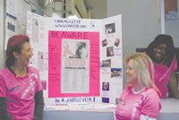 It Was All Pink At The Shelby Post Office