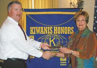 Kiwanis Club of Shelby Installs 2012 President