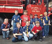 Cub Scout Pack 114 Tour Polkville Fire Department
