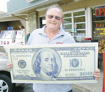 BRUCE WHITE IS OUR LUCKY READER OF THE WEEK