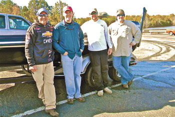 GWU Fishing Club Tournament on Moss Lake
