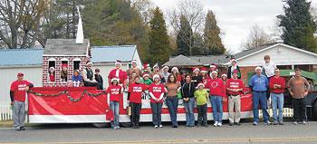 Poplar Springs Church Christmas Float