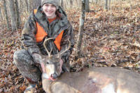 Jacob Bowen bags first buck