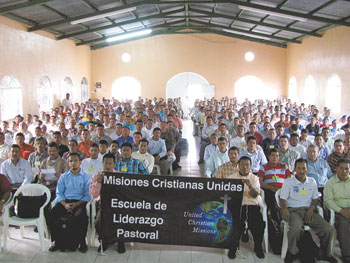 Pastors attending UCM's School Of Pastoral Leadership