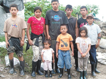 Children in Jinotega Nicaragua...