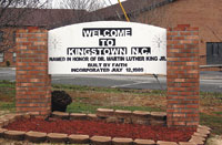 Community named In honor of Martin Luther King, Jr.