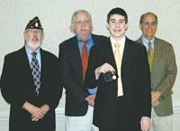 Benjamin Schaeffer Wins Contest