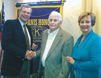 Kiwanis Club Recognizes Gene Branton For 53 Years of Perfect Attendance