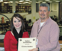 CCC Student Wins Spring Tuition Scholarship by Registering Online