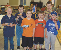 Polkville Pack 114 Annual Pinewood Derby