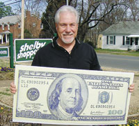 Walt Brysiak Wins $100 Superbowl Contest!