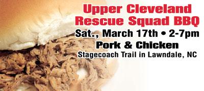 UPPER CLEVELAND RESCUE SQUAD BBQ 2012