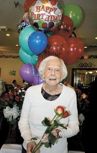 Inez Allen Celebrates 103rd Birthday