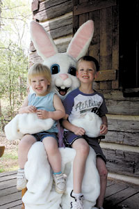 Broad River Hosts Easter Egg Hunt With Special Guest