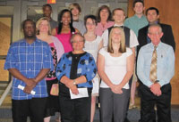 CCC Gamma Beta Phi Honor Society Inducts New Members
