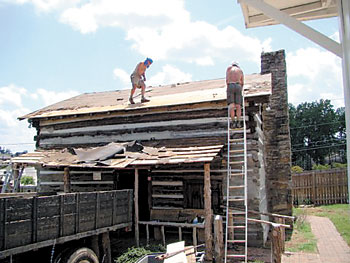 Beekeepers Cabin Gets New Roof