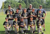 2012 Peewee Baseball City Park Champions