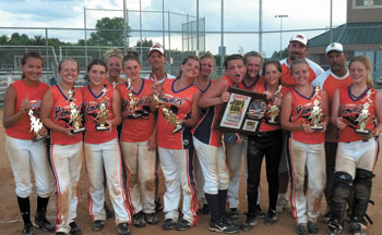 Congratulations to the Lady Bandits 14U Win 2012 Top Gun Summer World Series!
