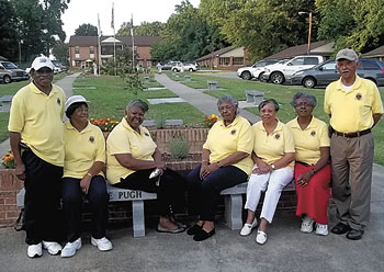 Lawndale Lions Club Members Attend Camp Dogwood Summer Camp