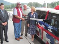DAV Donate Van to Charles Georgia VA Medical Center