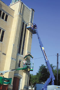 First Baptist Church Is Getting A Facelift