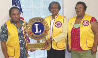 Lawndale Lion's Club Welcomes New Member Sharon Martin