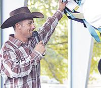 Award-winning horse trainer to share testimony at Men's Night
