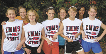 KM Middle School Cross Country Team Wins Tri-County Championship, Continue To Nationals