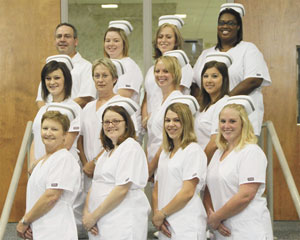Cleveland Community College Practical Nursing Students Honored at Pinning Ceremony