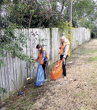 Over A Hundred Pounds  Of  Litter And Recyclables Picked Up By Keep Shelby Beautiful Volunteers