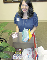 """Hospice Helps With """"SECU Supports The Troops"""" Project"""