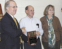 Loyd & Sara Lewis Honored with Carolina Farm Credit Excellence In Agriculture 2012 Award