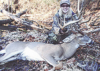 ASHLEY BAGS HER FIRST DEER
