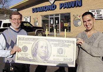 AHMAD ELKOUT WINS $100 IN SHELBY SHOPPER FOOTBALL CONTEST!