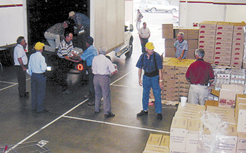 Shelby Lions Club To Distribute USDA Commodities