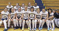 2012 Burns Middle School Volleyball Team