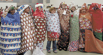 CIVITANS BRING CHRISTMAS CHEER TO NORTH SHELBY STUDENTS