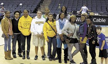 Crest Varsity Girls Basketball Team Travels To Bobcat Arena For Tournament