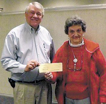 Neal Senior Center New Year's Bingo Players  And Winner