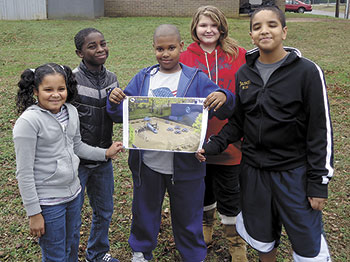 Boys & Girls Club Members Excited About New Playground