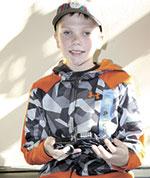Cub Scout Austin Tessneer Wins Pinewood Derby!