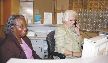 Those Valuable and Helpful CRMC Receptionists...