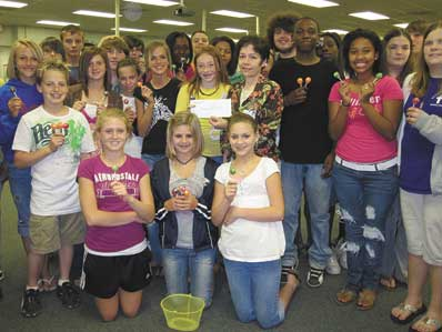 Kings Mountain Middle School Students Raise Money For Hospice